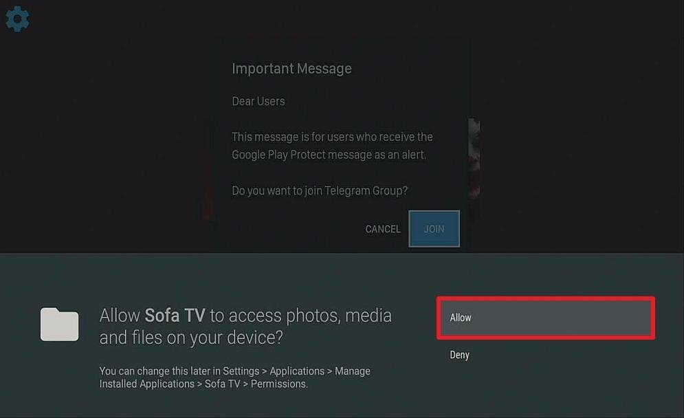 Step 15 Install Sofa TV on Firestick