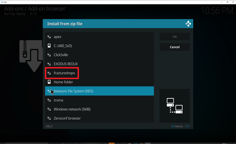 Step 16 Install Real Debrid Exclusively Movies on kodi