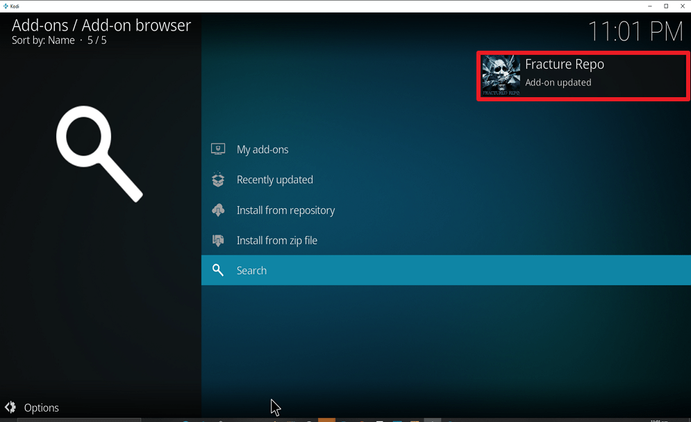 Step 18 Install Real Debrid Exclusively Movies on kodi