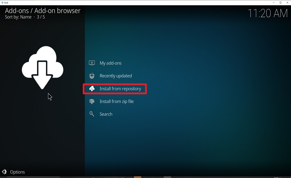 Step 19 Install FoxyStreams on kodi