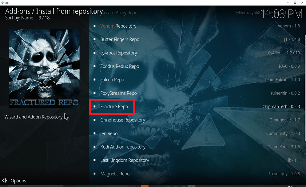 Step 20 Install Real Debrid Exclusively Movies on kodi