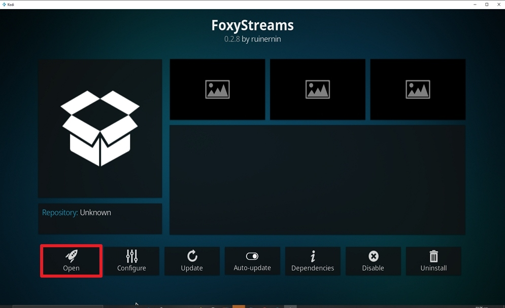Step 28 Install FoxyStreams on kodi