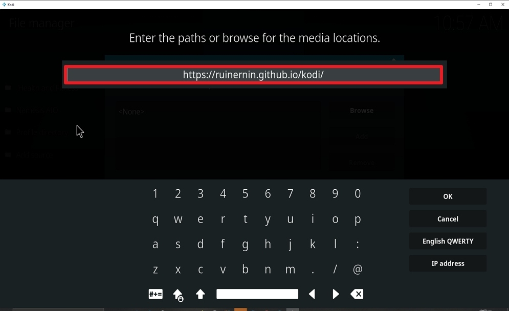 Step 8 Install FoxyStreams on kodi