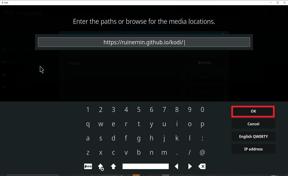 Step 9 Install FoxyStreams on kodi