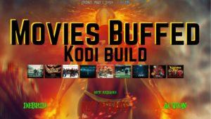 Movies buffed kodi build logo