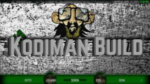 Kodiman Build kodi logo