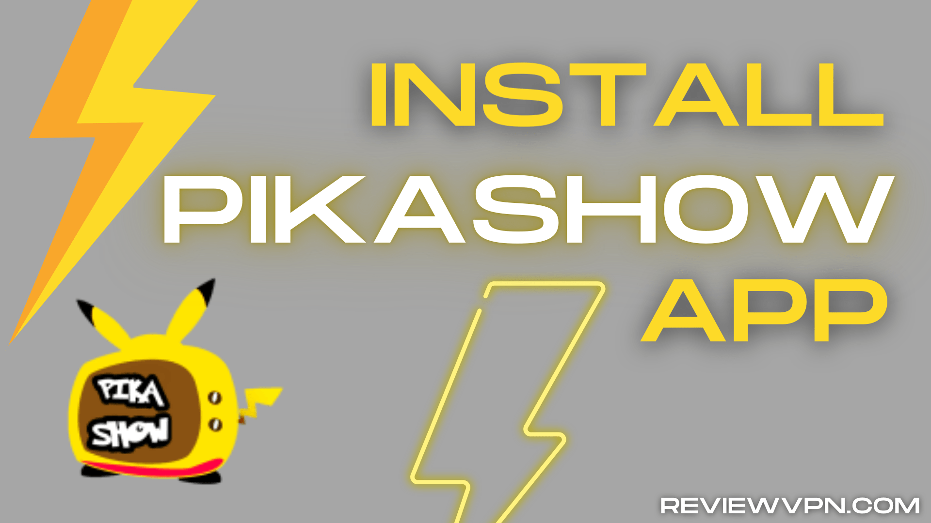 Install PikaShow on Firestick – One-Click Play 2020
