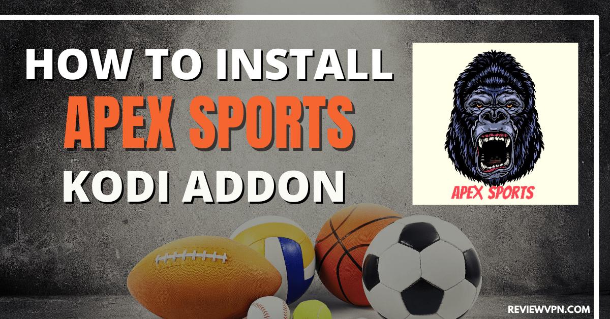 How to Install ApeX Sports Kodi Addon